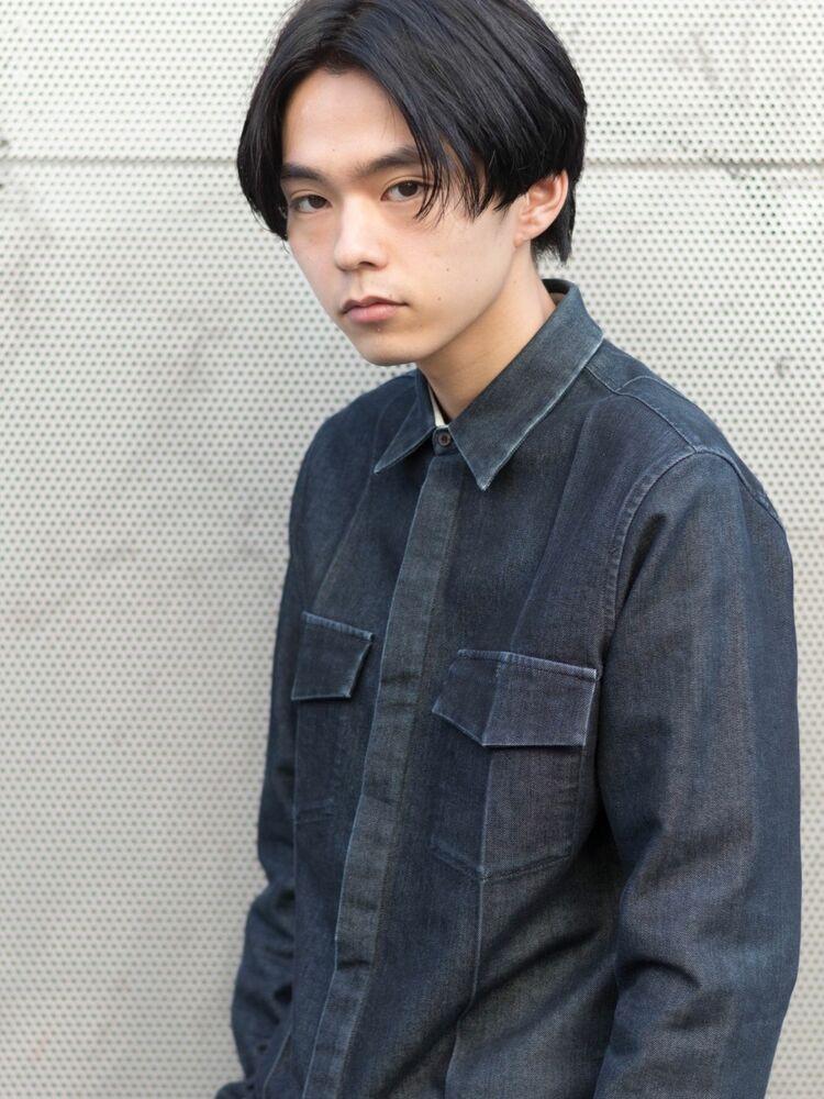 重め松田翔太風センターパートショート
