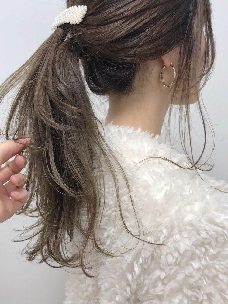 柔らかベージュ髪❤︎
