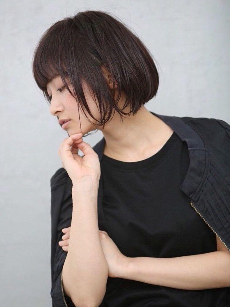 MAKE'S 暗髪ドレープボブ (担当 TAKUYA)