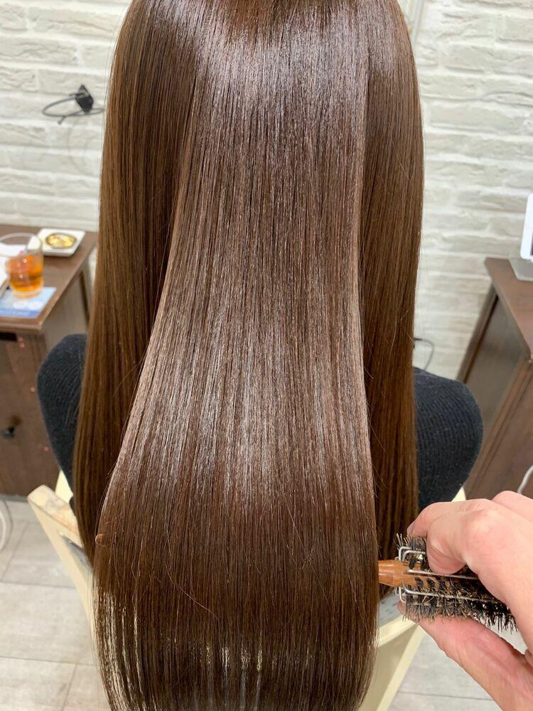 髪質改善 サイエンスアクアトリートメントで艶々サラサラ