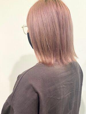 フラミンゴピンクカラー