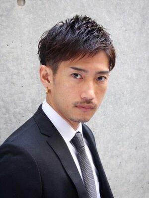 GOALD 渋谷 星 勇輝 ◎スーツ◎就活◎人気ランキングTOP ★★★アップバングショートビジネス