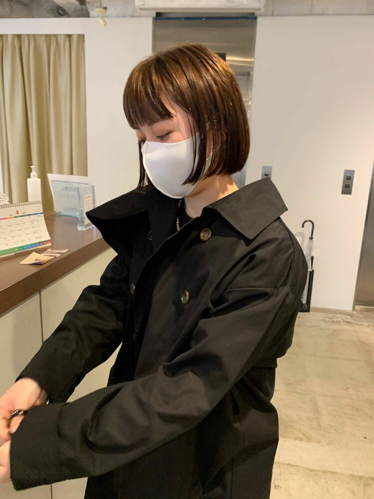 【神戸 CHEST】切りっぱなしボブ