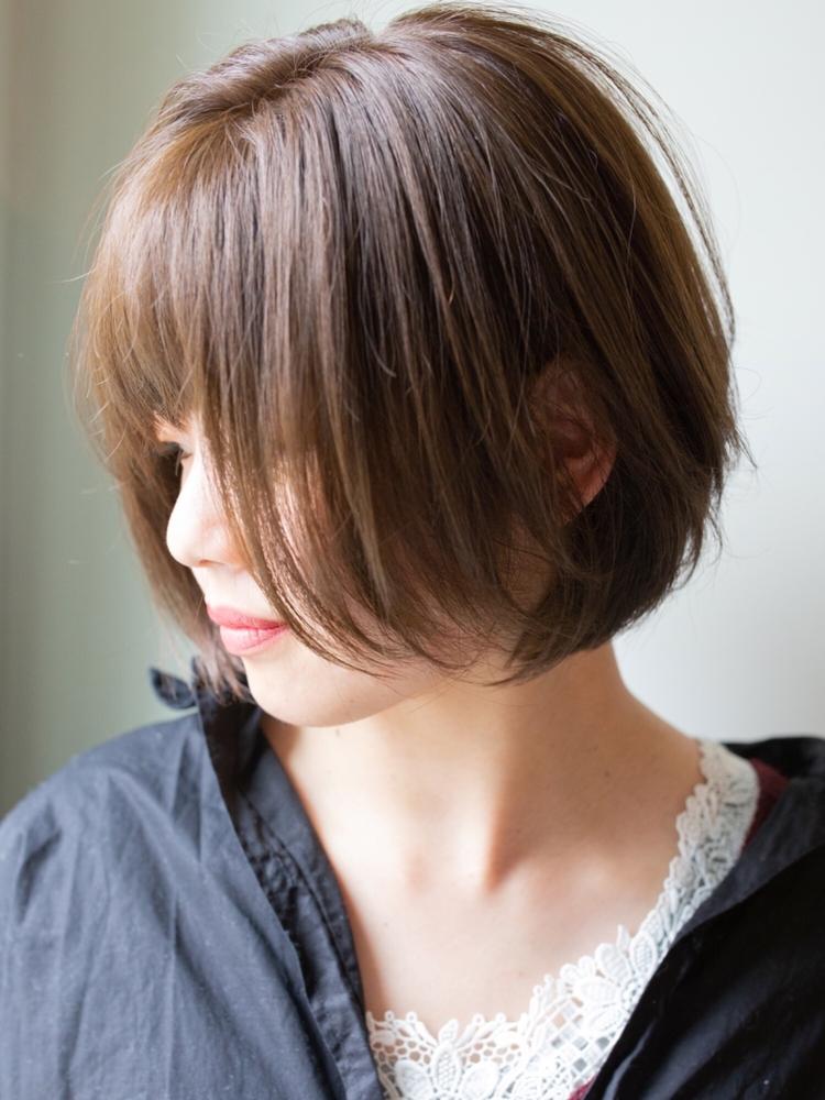 CICATA鎌倉 クセ毛でも大丈夫なマッシュハンサム丸みショート/30代・40代にもオススメ