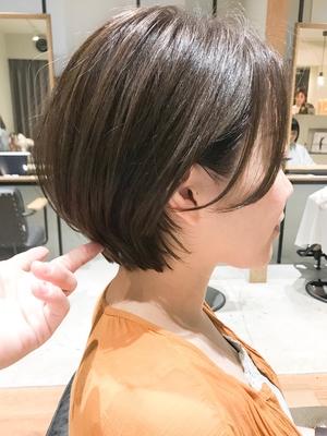 CICATA鎌倉 クセ毛でもOKなマッシュハンサム丸みショート/30代・40代にもオススメ