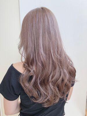 ☆KAJIWARA☆透け感あふれるモテ髪ブランジュ