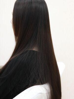 艶髪スーパーストレートロングクセストパー