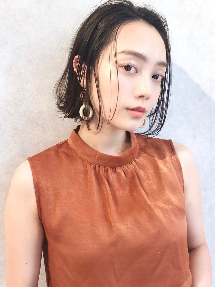 December 前髪なし/大人かわいい/外ハネボブ♪