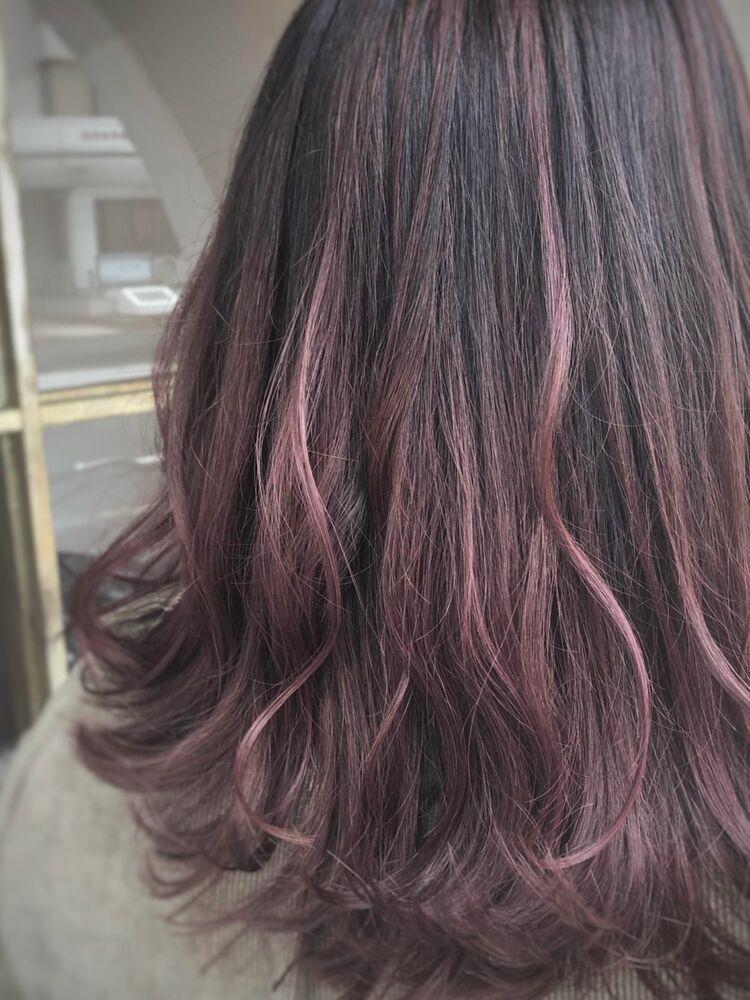 ピンクパープルカラー