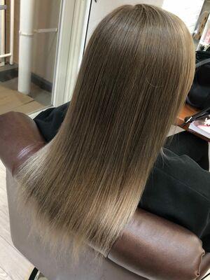 Richer hairsalon リシェル渋谷-勝又舞夏 ミルクティベージュ