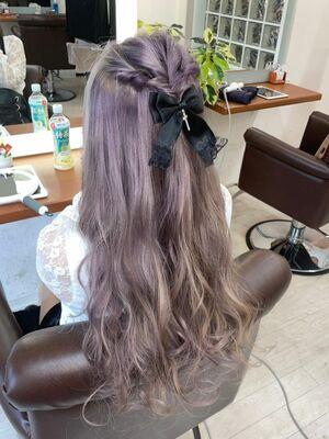 Richer hairsalon リシェル渋谷-勝又舞夏 ラベンダーピンクアッシュ