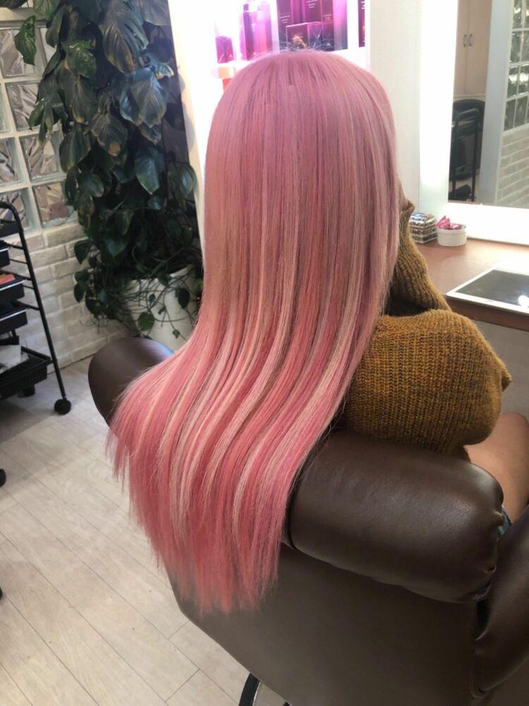 Richer hairsalon リシェル渋谷-勝又舞夏 パステルピンク