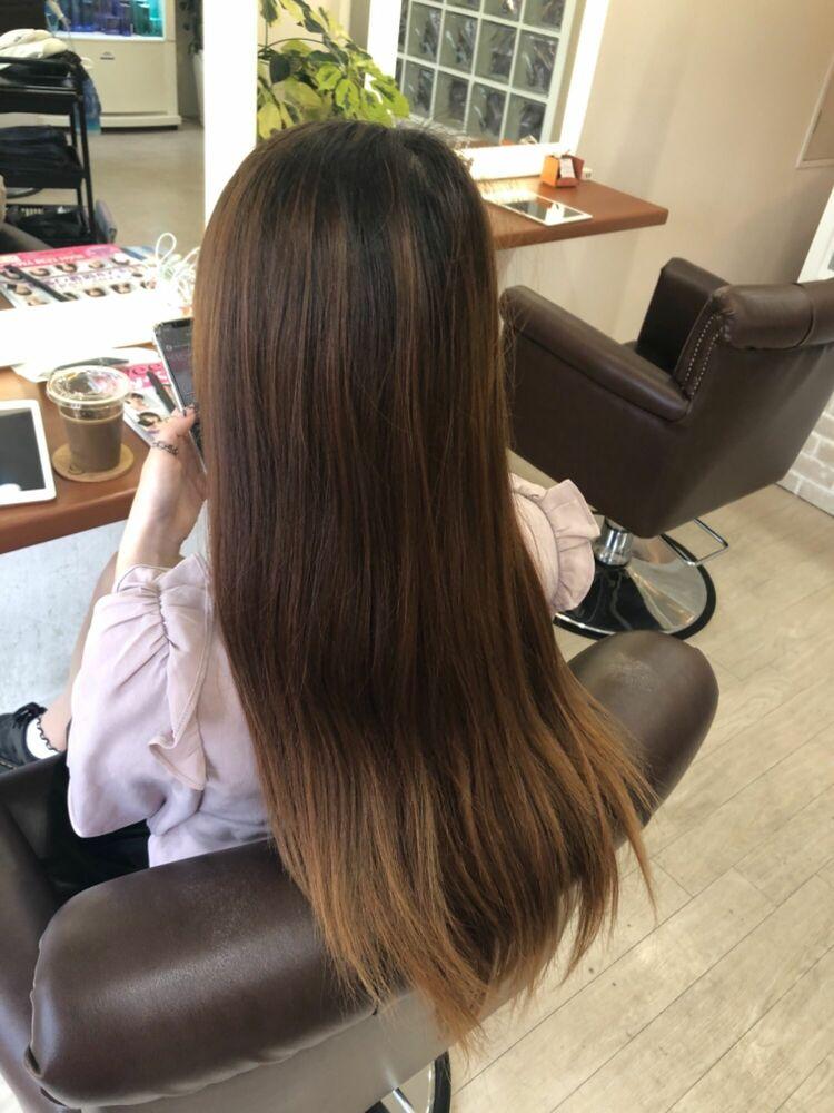 Richer hairsalon リシェル渋谷-勝又舞夏 ラベンダーピンク
