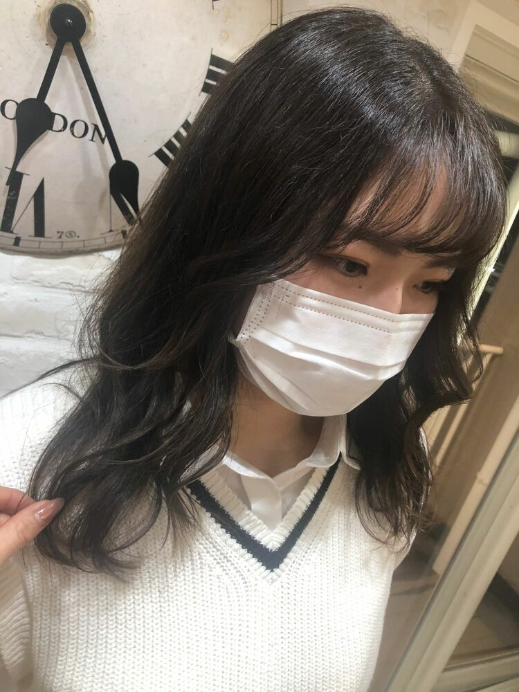 Richer hairsalon リシェル渋谷-勝又舞夏 ヨシンモリ/顔まわりレイヤーカット