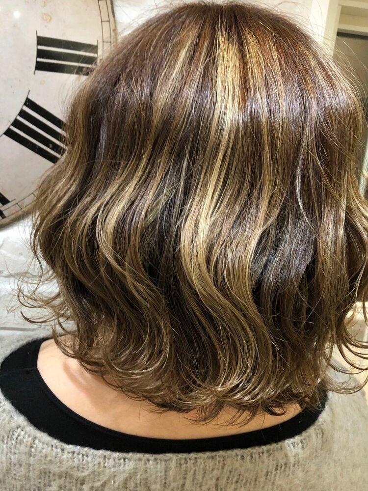 Richer hairsalon リシェル渋谷-勝又舞夏 コントラストハイライト