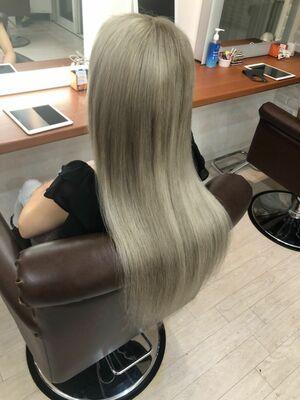 Richer hairsalon リシェル渋谷-勝又舞夏︎︎ ホワイトミルクティ