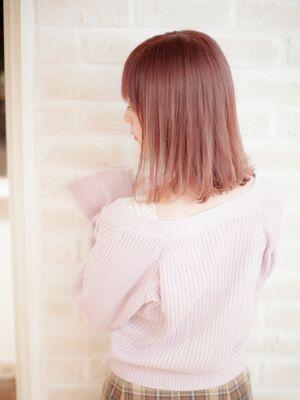 Richer hairsalon リシェル渋谷-勝又舞夏 ピンクベージュ