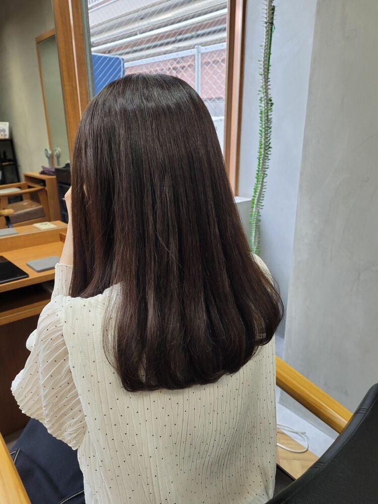 癖毛のお悩み解決!!オリジナルメニューのヘアエステで剛毛癖毛も乾かしただけでこんなに綺麗に✨