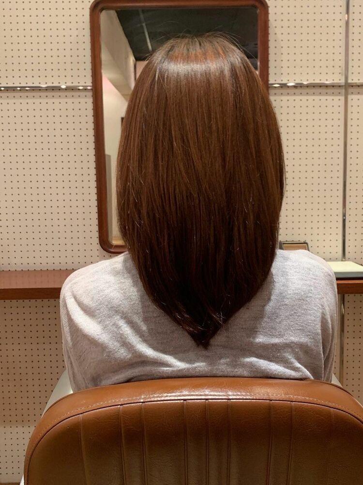 40代髪型ロング