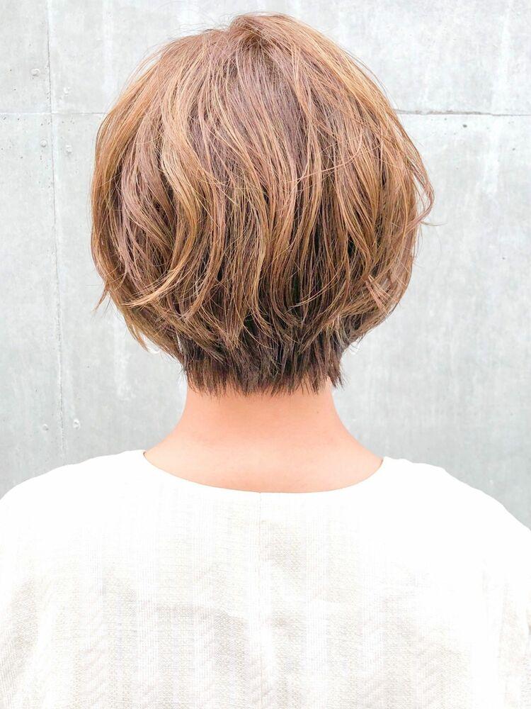 パーマスタイルで再現性抜群ショートヘア