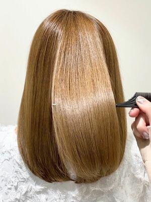 艶髪叶えます☆髪質改善酸熱トリートメント