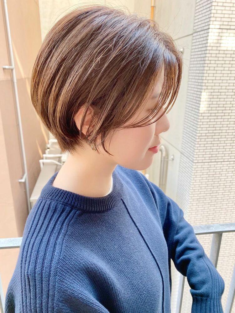 表参道・青山/VIE/つばさ☆カットが上手い◎大人可愛いショートボブ