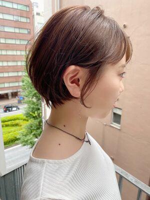 銀座/VIE/つばさ☆カットが上手い◎乾かすだけで可愛いショートヘア