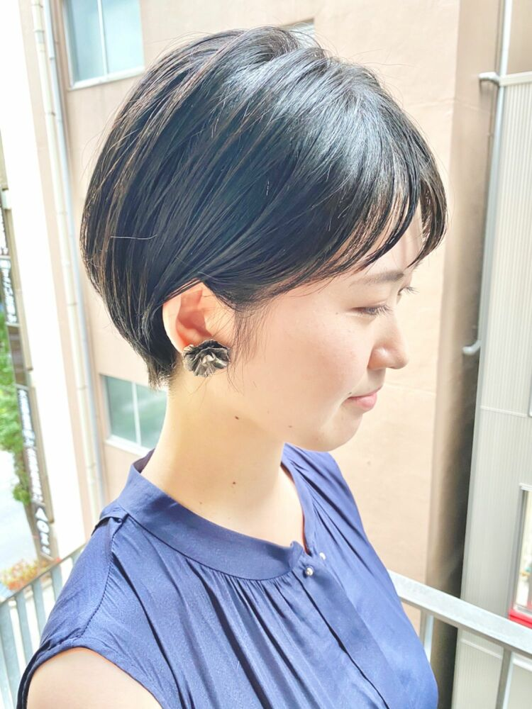 銀座/VIE/つばさ☆カットが上手い◎スッキリ耳掛けショートヘア