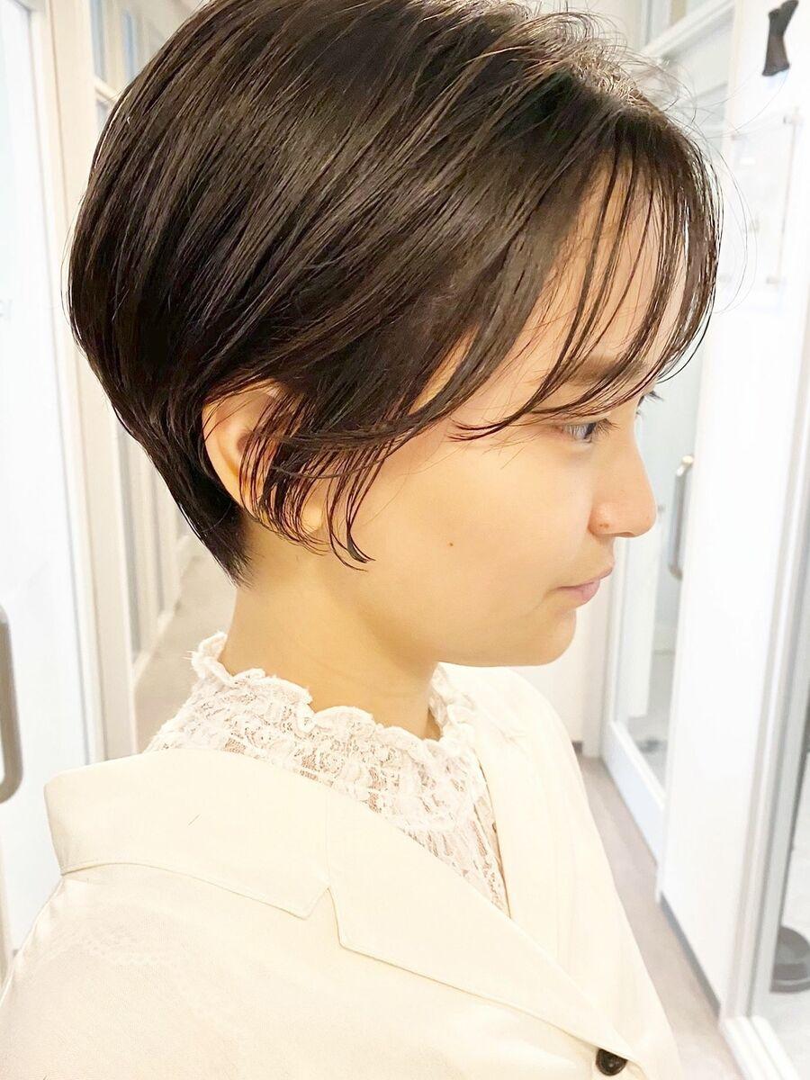 銀座/VIE/つばさ☆カットが上手い◎乾かすだけでオシャレに決まるショートヘア