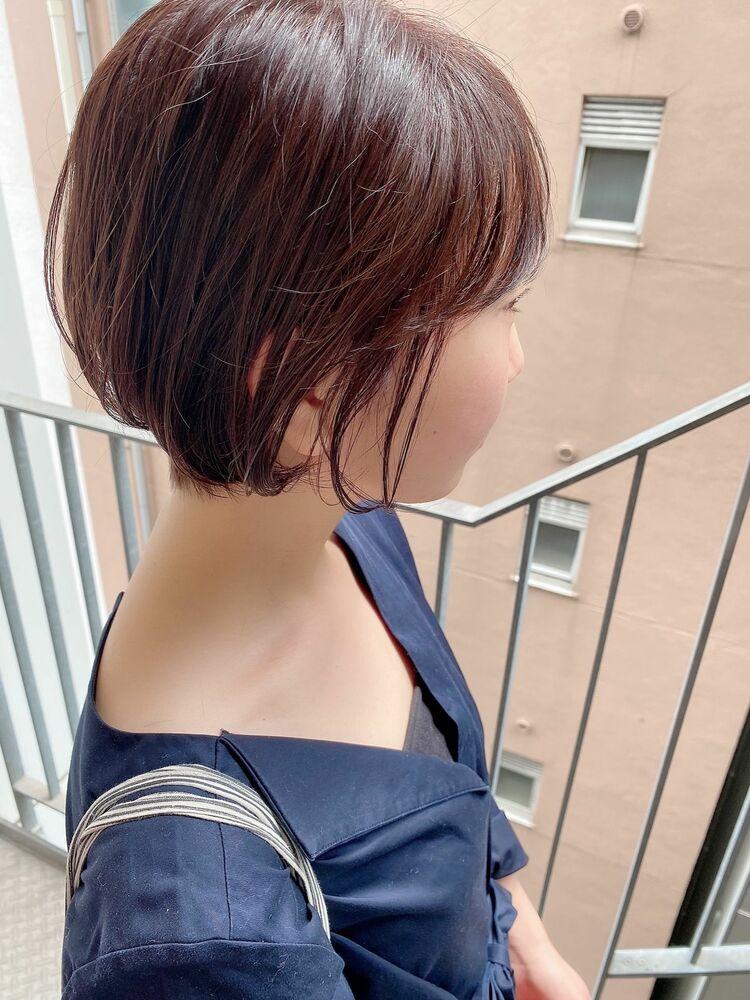 銀座/VIE/つばさ☆カットが上手い◎乾かすだけで可愛くなるショートボブ