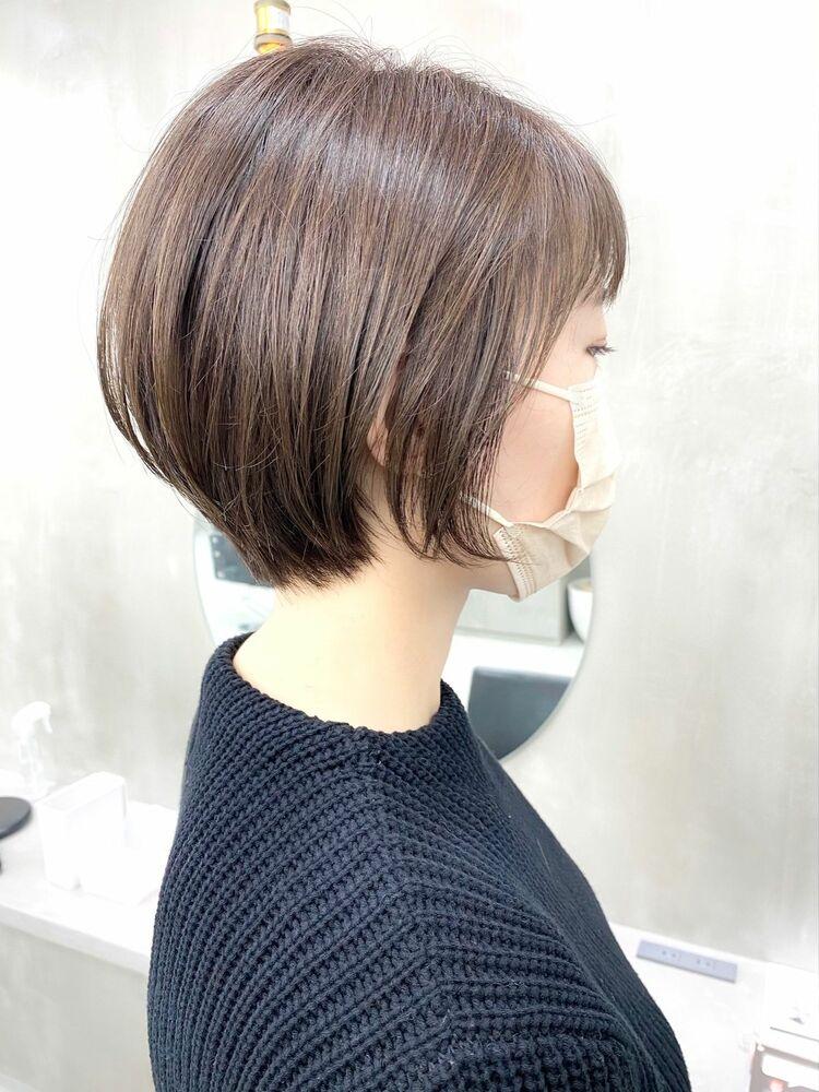 表参道・青山/VIE/つばさ☆カットが上手い◎シルエットが可愛いショートヘア