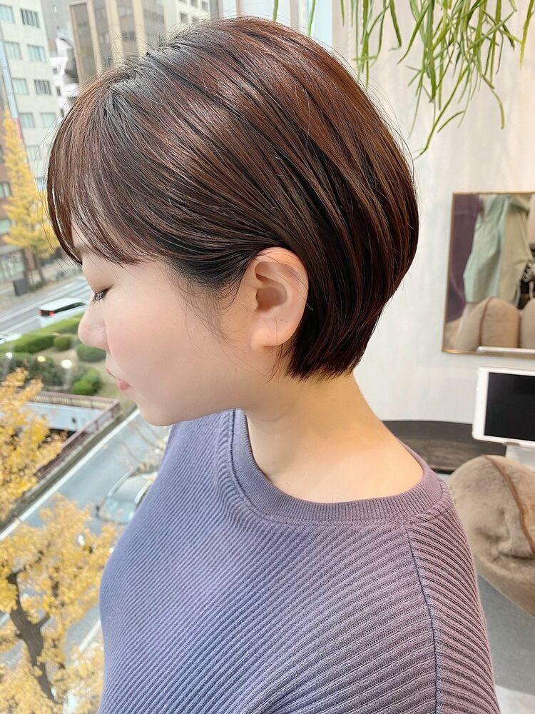 表参道・青山/VIE/つばさ☆カットが上手い◎キレイにまとまるショートヘア