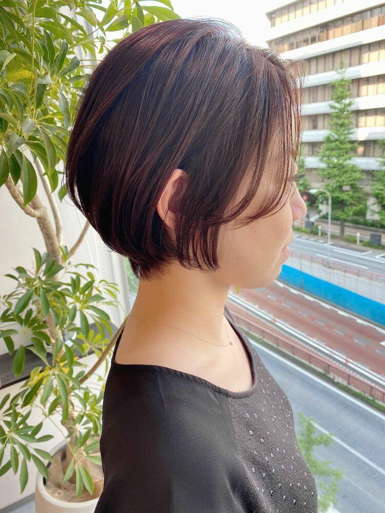 表参道・青山/VIE/つばさ☆カットが上手い◎ふんわりショートボブ