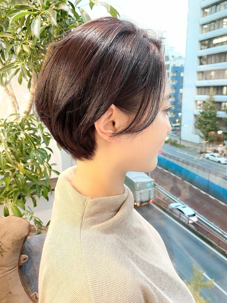 表参道・青山/VIE/つばさ☆大人女性のショートヘア