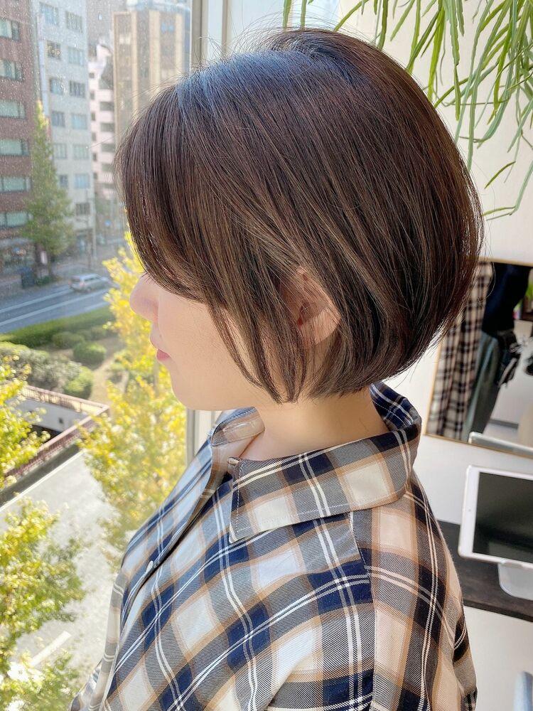 表参道・青山/VIE/つばさ☆カットが上手い◎キレイにまとまるショートボブ