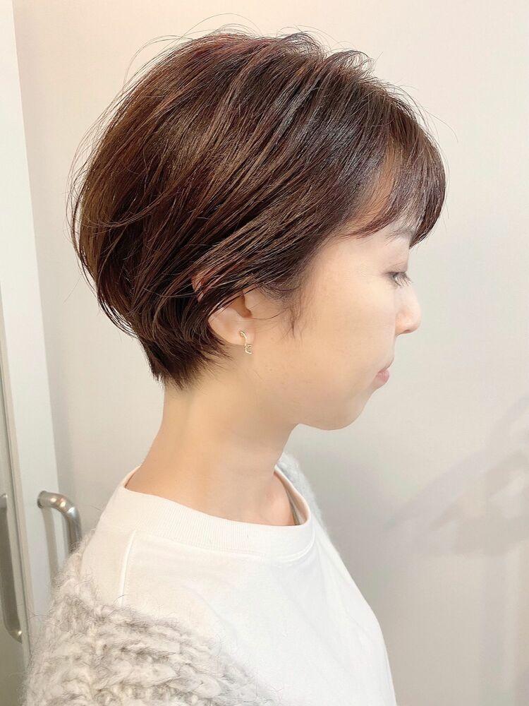 銀座/VIE/つばさ☆カットが上手い◎大人のふんわりショートヘア