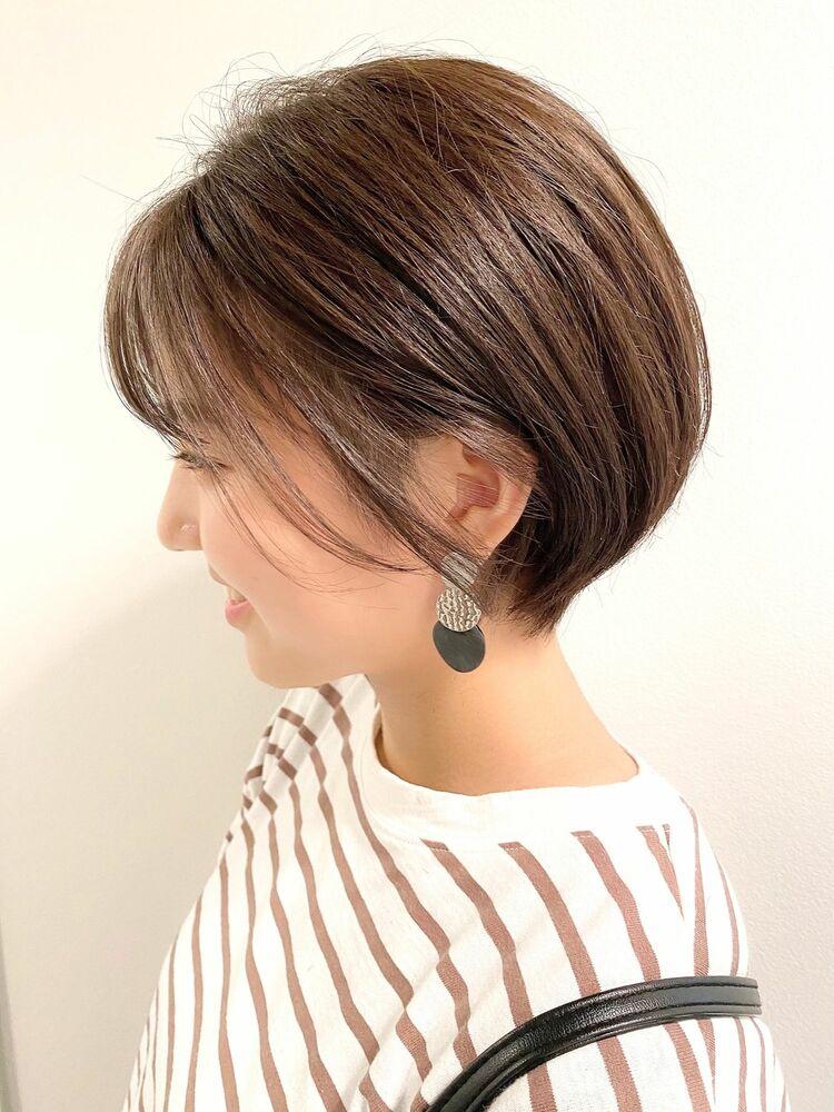 銀座/VIE/つばさ☆カットが上手い◎ナチュラルに可愛いショートヘア