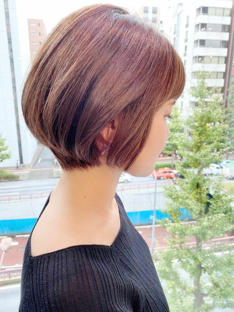 銀座/VIE/つばさ☆カットが上手い◎女性らしいショートボブ