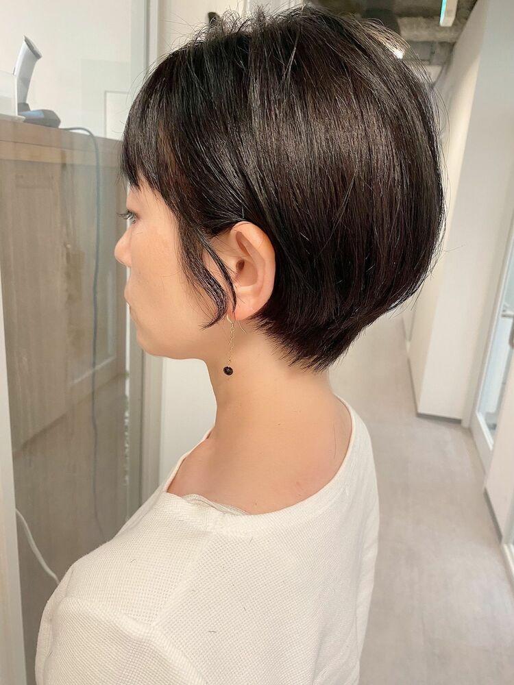 銀座/VIE/つばさ☆カットが上手い◎乾かすだけでまとまるショートヘア
