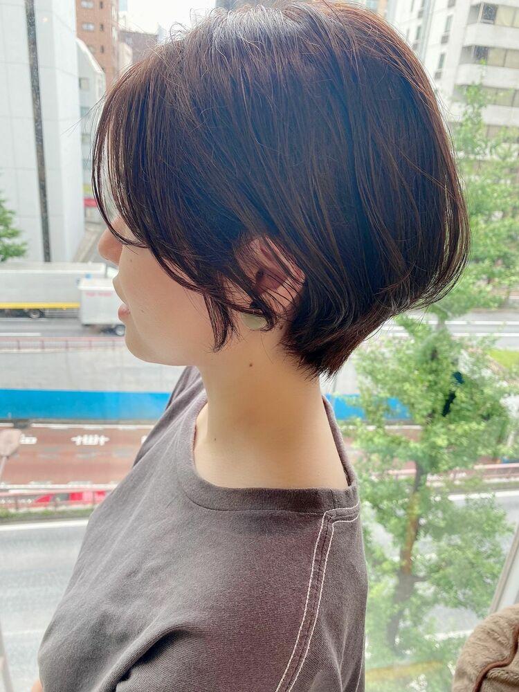 銀座/VIE/つばさ☆カットが上手い◎大人女性の動きのあるハンサムショート