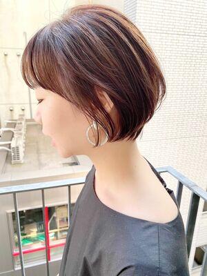 銀座/VIE/つばさ☆カットが上手い◎ふんわり丸みショート