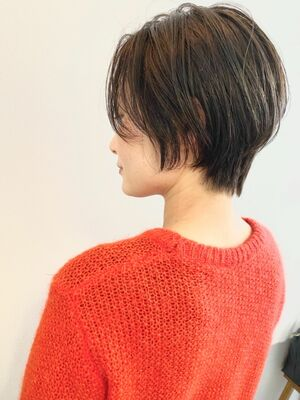 表参道・青山/VIE/つばさ☆カットが上手い◎大人女性のハンサムショート