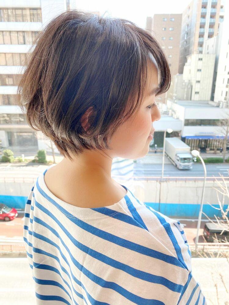 表参道・青山/VIE/つばさ☆カットが上手い◎大人女性のショートヘア