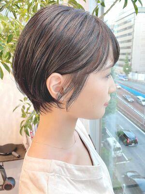 銀座/VIE/つばさ☆カットが上手い◎大人女性の耳かけショート