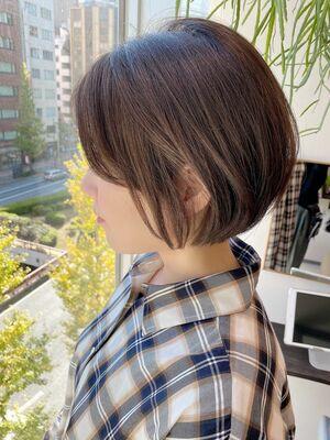 銀座/VIE/つばさ☆カットが上手い◎ふんわり可愛いショートボブ