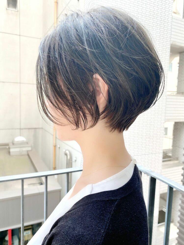 表参道・青山/VIE/つばさ☆カットが上手い◎女性らしいふんわりショートボブ
