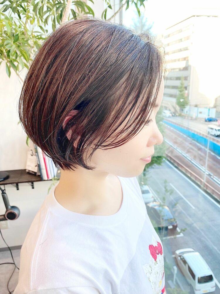 表参道・青山/VIE/つばさ☆カットが上手い◎短すぎないショートボブ