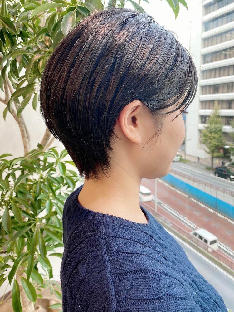 銀座/VIE/つばさ☆カットが上手い◎スッキリ大人女性ショート