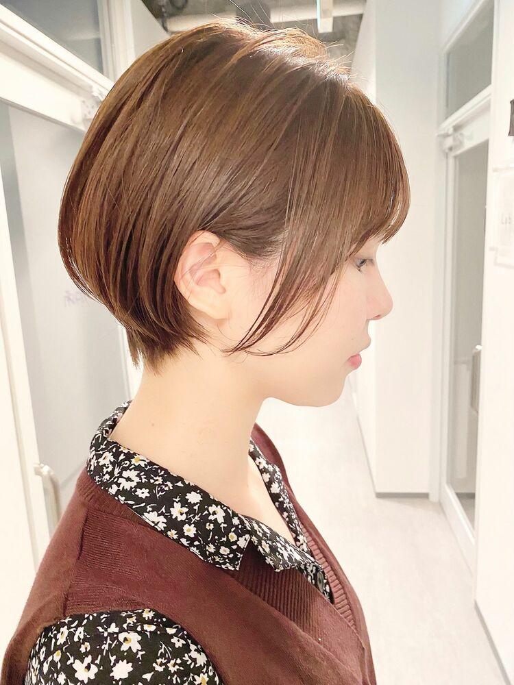 表参道・青山/VIE/つばさ☆カットが上手い◎女性らしいショートボブ