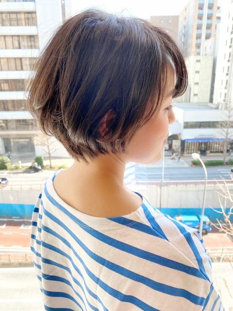 表参道・青山/VIE/つばさ☆カットが上手い◎大人女性のふんわりショート